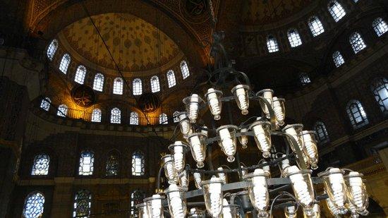Mezquita de Suleiman o Mezquita de Süleymaniye: prayer hall