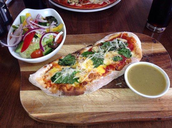 Prezzo: The lighter pizza option.