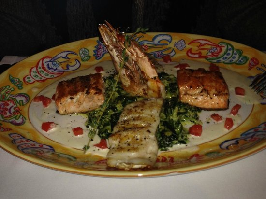 Nejat Balik: Mixed Sea Food