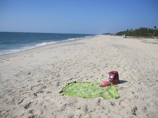 Casamaria Beach Resort: The beach