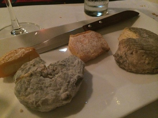Trois Gourmands: House made cheeses