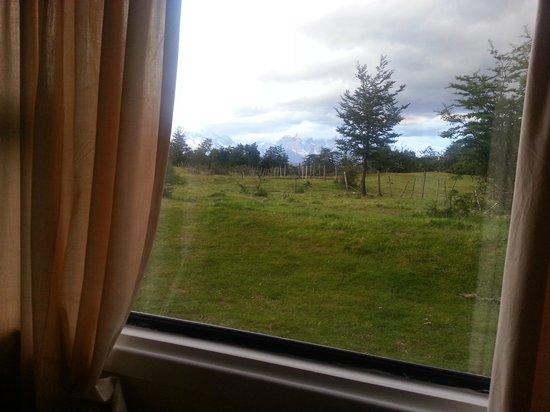 Hotel del Paine: Vista desde una de las cabañas