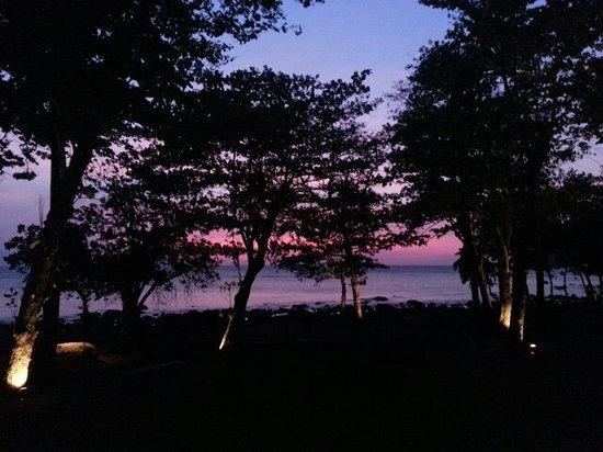 The Pade Resort: The sunset