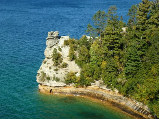 Pictured Rocks National Lakeshore: Picture Rock Michigan October 2013