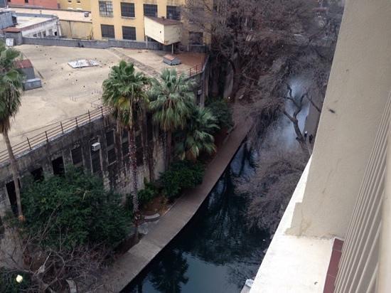 Drury Inn & Suites San Antonio Riverwalk: view from the balcony