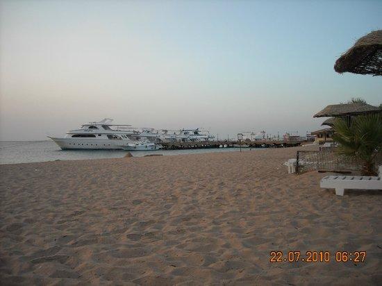 Lotus Bay: пляж