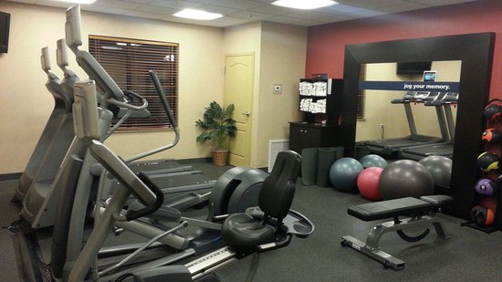 Hampton Inn & Suites Windsor - Sonoma Wine Country: Workout room