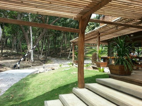 The Pade Resort: The entrance