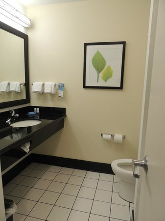 Fairfield Inn & Suites St. Augustine I-95: bano