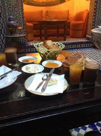 Riad Doha : Desayuno