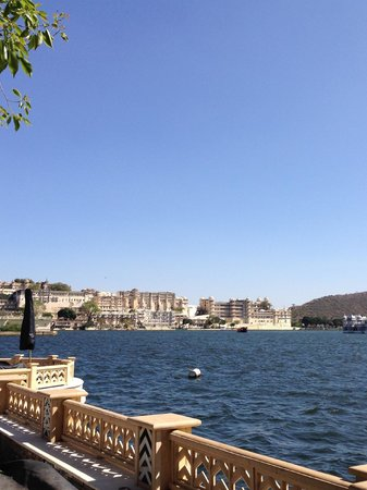 The Leela Palace Udaipur: View from courtyard