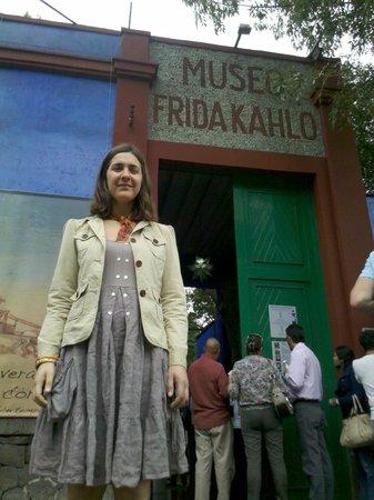 Musée Frida Kahlo : Entrada de la casa