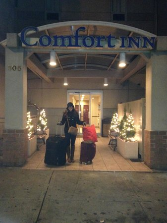 Comfort Inn Times Square South : Entrance