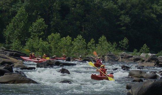 Wilderness Voyageurs: Cheat Narrows, a summer time class 3 duckie run.