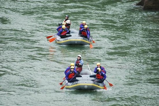 Wilderness Voyageurs: Cheat River Canyon, heading to the takeout