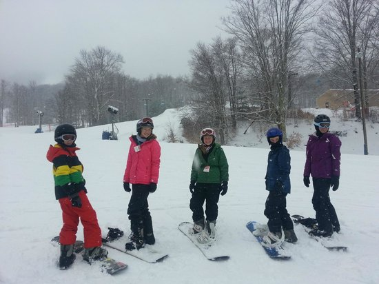 Canaan Valley Resort: Kids enjoyed the great conditions too!