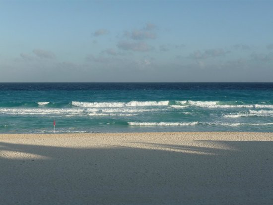 Flamingo Cancun Resort: plage