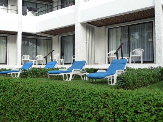 Flamingo Cancun Resort: chambre 1 étage extérieur