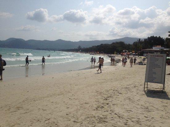 Baan Haad Ngam Boutique Resort & Villas : great view, beautiful green blue water