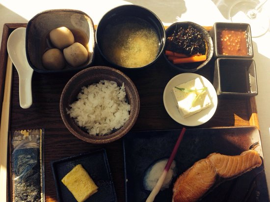 Mandarin Oriental, New York: Awesome Japanese breakfast in the a la carte restaurant.
