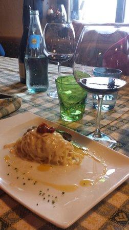 Rifugio Fuciade: Spaghetti di patate