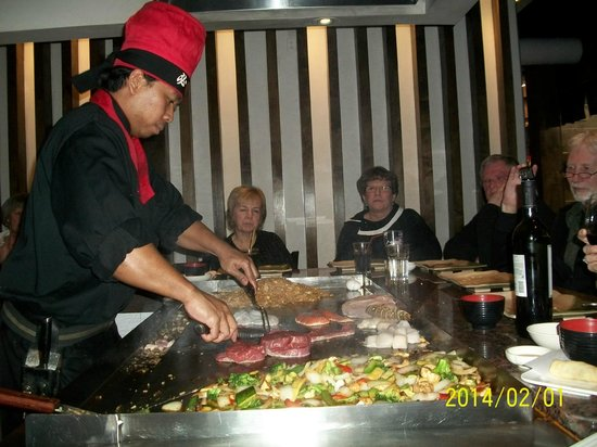 Osaka Hibachi: Fresh food cooked in front of you.