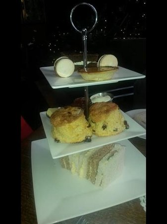 The Wild Trapeze: afternoon tea
