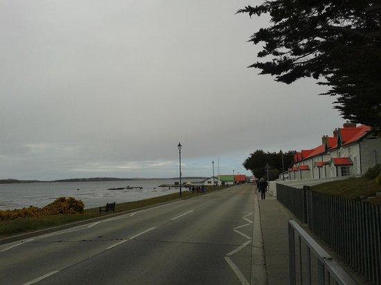 Sea Lion Island : lungomare