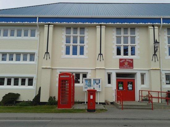 Sea Lion Island, Νήσοι Φώκλαντ: ufficio postale