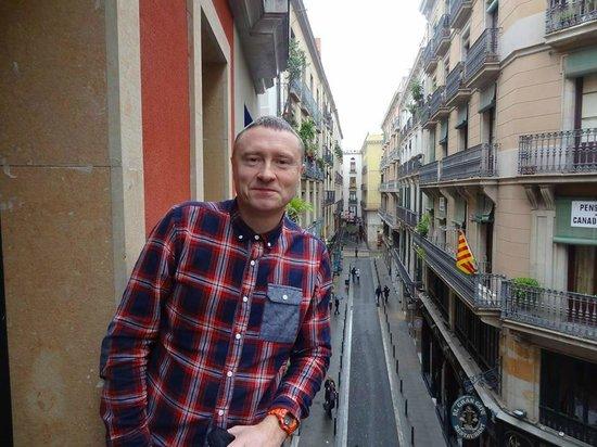 Catalonia Avinyo: view from balcolny