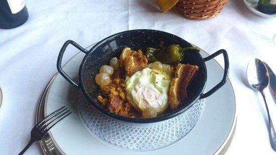 Restaurante Parador Nacional Castillo de Siguenza : Migas