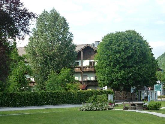 Gasthof Sonne from village green, June 2013