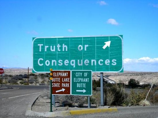 Truth or Consequences照片