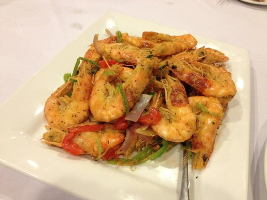 Seafood soup, part of a special order banquet - Picture of ...