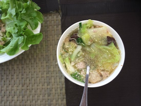 LK The Empress: Seafood Soup