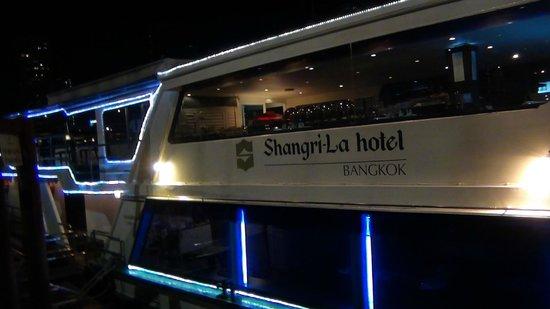 Shangri-La Hotel,Bangkok: la barca