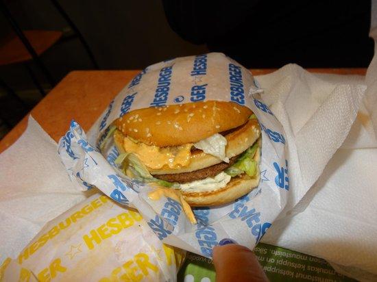 Hesburger : mega ateria
