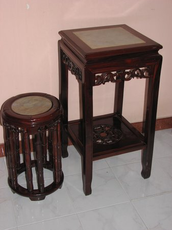 Madam Cuc 127: exotic furniture