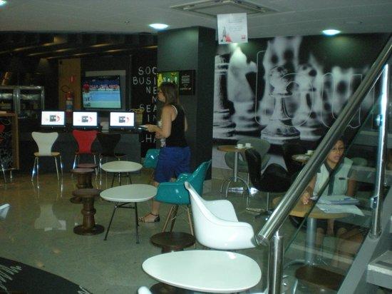 Ibis Rio de Janeiro Botafogo : estar