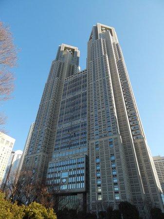 Tokyo Metropolitan Government Buildings: Building