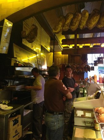 Can Paixano (La Xampanyeria) : La cuisine ;)