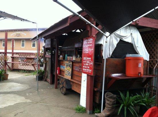 Barbecue Chuckwagon: Order area