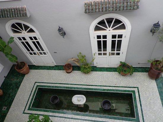 Riad Utopia Suites & Spa: Vista desde la ventana
