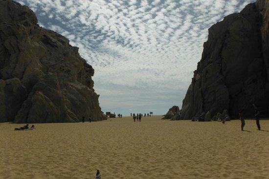 Playa del Amor : Pasaje hacia la playa del divorcio
