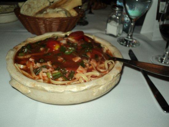 Tisiano: delicioso y super abundante plato de pastas en Tiziano