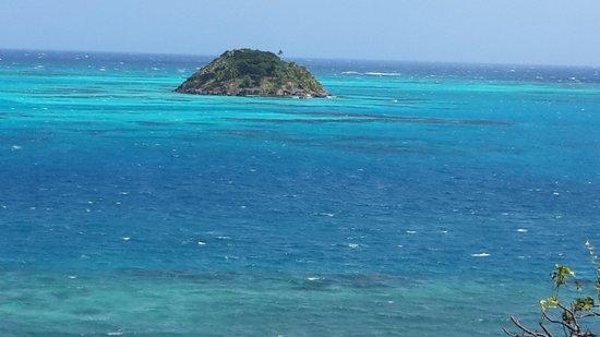 Deep Blue : vista desde la habitación luxury suite, increible!