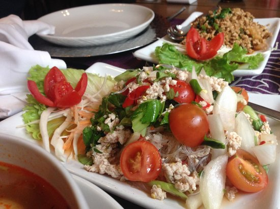 ThaiSquare : Spicy Seafood Salad
