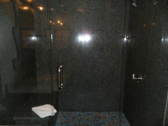 3 Peaks Resort & Beach Club : Large Shower (sorry, it's a little dark)