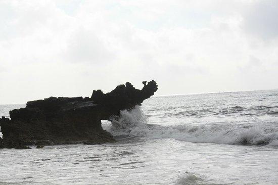 Garoda Resort : le onde si infrangono sul coccodrillo