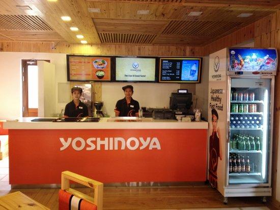 Yoshinoya: counter staff
